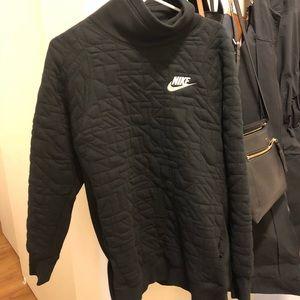 Nike Quilted Fleece Hoodie